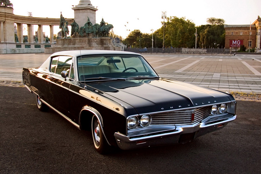 American Old Timer Cars | 1968 Chrysler Newport Coupe 383 cui