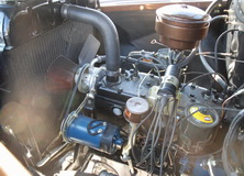 1956 Dodge Job Rated Pickup - engine