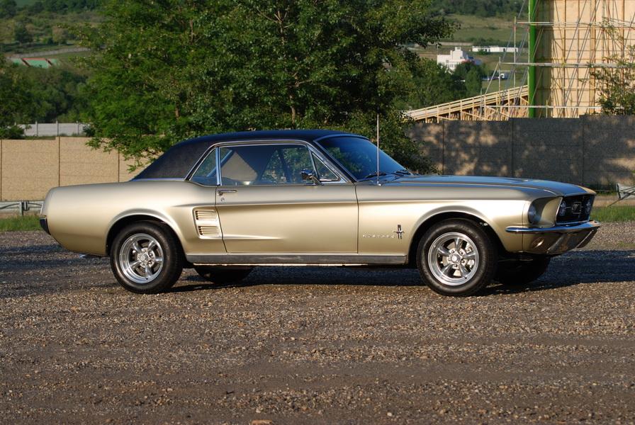 Mustang Parts Car