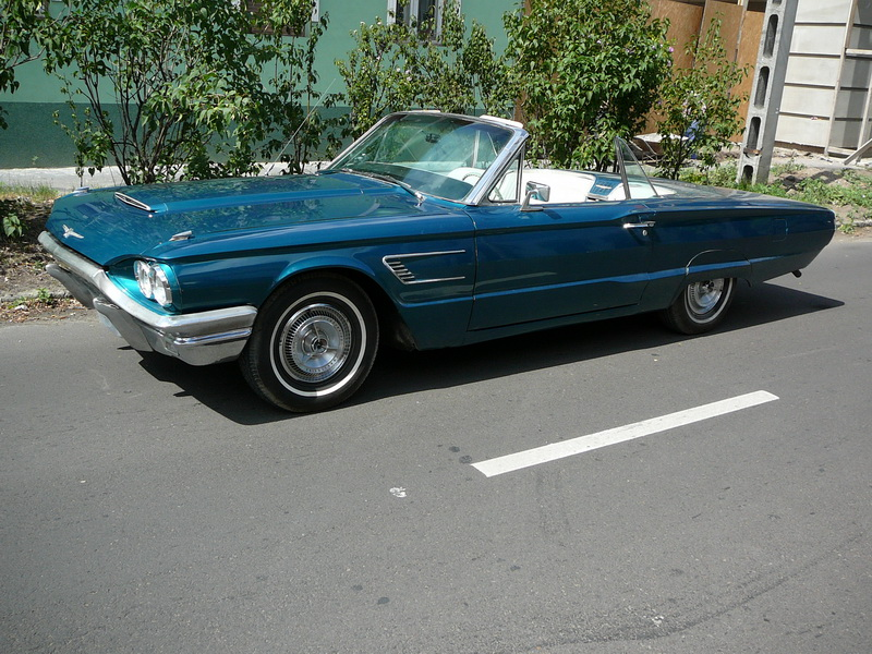 American Old Timer Cars | 1965 Ford Thunderbird Convertible 390 cui